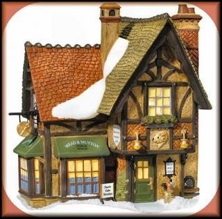 Mead Mutton Public House New Department Dept 56 Dickens Village DV