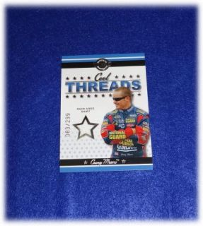 AMERICAN THUNDER COOL THREADS RACE USED SHIRT CASEY MEARS 83/299 CT9