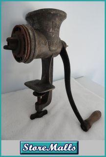 Vintage Cast Iron Keystone Meat Grinder C I Co 30