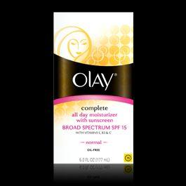 day moisturizer w/sunscreen BROAD SPECTRUM SPF15  normal 6 fl.oz  NEW