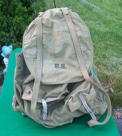 US Army Mountain Troop Backpack Rucksack w Frame Meese 1942