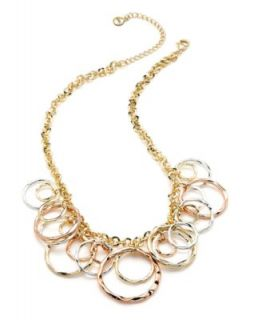 Laundry Necklace, Gold Tone Mesh Collar Necklace   Fashion Jewelry