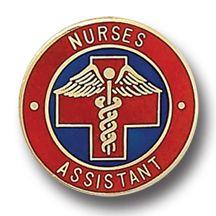 Nurses Assistant Medical Insignia Emblem Pin 5005