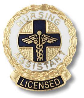 New Licensed Nursing Assistant Medical Nurse Lapel Pin