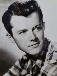 Actor Photograph Lon McCallister Black White 4 1 2 x 4