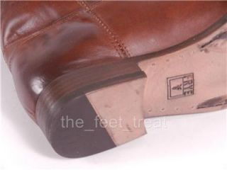 New Frye US 8 Melissa Button Extended Cognac Brown Tall Riding
