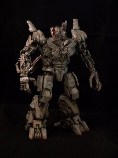 Transformers Custom Megatron Leader Class DOTM DMK