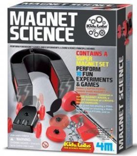 Magnet Science Kit 10 Fun Experiments Ages 8