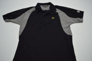 Womens McDonalds Uniform Shirt Costume Polo XS Extra Small Poly
