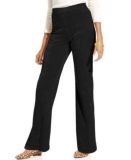 Karen Scott Fleece Top & Active Pants   Womens