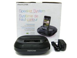 Memorex MI5091BLK Compact Speaker System with iPod Dock