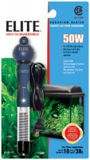 Hagen Elite Aquarium Fish Tank Heater Mini 50W 50 Watt
