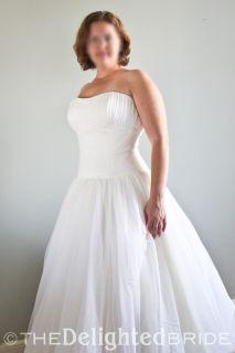 Melissa Sweet Swiss Dot Wedding Dress For Sale   Sample Sale   The