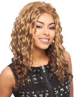 Synthetic Full Lace Wig Deep Wave Front Lace Melody