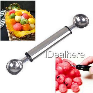 Stainless Steel Melon Fruit Baller Scoop Spoon