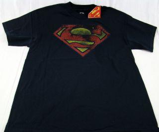 Mens DC Comics Originals Super Hero Superman Distressed T Shirt Any