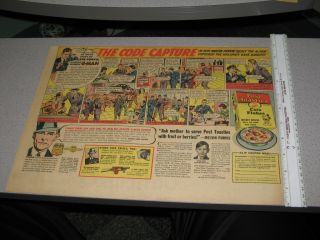 Newspaper Ad 30s Melvin Purvis G Man Comic Book Strip Premium Mickey