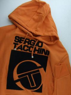 Mens Sergio Tacchini Fleece Hoody Hoodie Sweater s XL