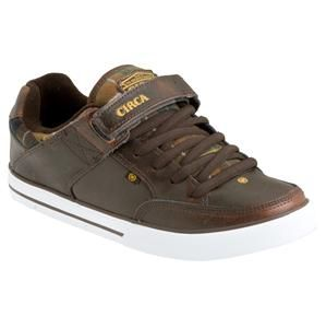 NIB Circa 205 Vulc Skate Shoe Brown Originals Sz 7 0