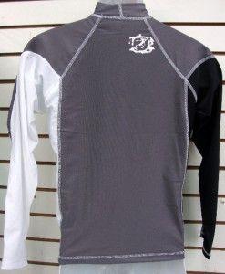 Mens SPF 50 Surf Shirt Rash Guard Long Sleeve Small thru 2XL RGMLS