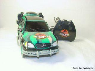 Jurassic Park Mercedes Benz Remoe Conrol Car oy Biz