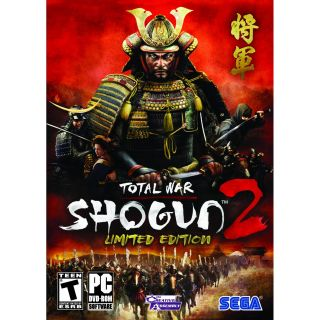 New Total War Shogun 2 II Limited Edition PC Game Sega SEALED Retail