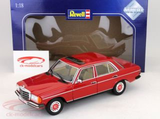 Mercedes Benz 230 E W123 Red 1 18 Revell