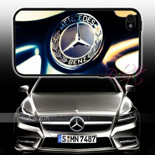 Mercedes Benz Vintage Logo Printing iPhone 4S 4 4G Case Cover T0690 B
