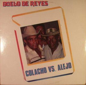 LP LATIN: COLACHO MENDOZA VS. ALEJO DURAN Duelo De Reyes 1987 DISCOS