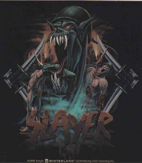 Slayer War Monster Official Sticker New Heavy Metal