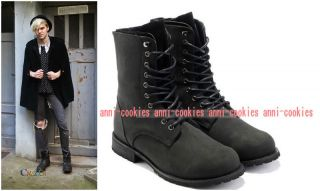 Fashion New Mens bLack Boots Suede Shoes Casual boot size US6.5 10