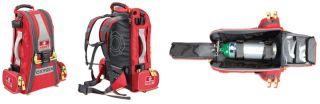 Meret Recover Pro Fire Red O2 Response Bag EMT Oxygen Trauma Bag