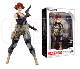 10 Meryl Silverburgh Figure Metal Gear Solid Square Enix Play Arts