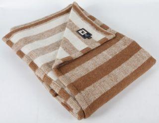 New Fine Alpaca Merino Wool Blanket 90x 60 Twin Size