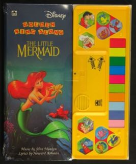 Walt Disneys The Little Mermaid Golden Sing Along Book