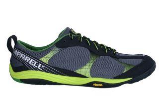 Merrell Mens Shoes Barefoot Road Glove Black Lime Zest J38395 Sz 11 5