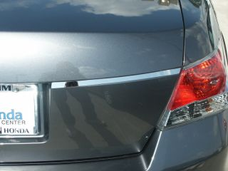 Stainless Steel Tailgate Trim 2008 2011 Honda Accord