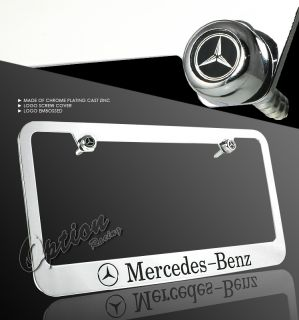 Mercedes Benz Chrome License Plate Frame W220 S500 S600