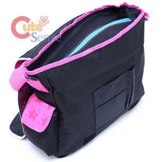 Victoria School Messenger Bag Rockin Preppy Style Pink Shoulder Bag
