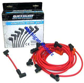 Mercruiser Quicksilver Spark Plug Wire Set Delco Hei 84 816608Q68