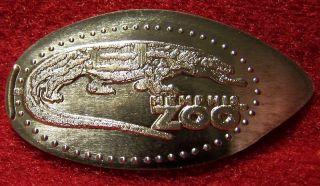 Memphis Zoo Komodo Dragon Elongated Copper Penny