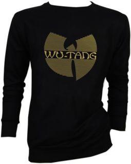 Wu Tang Clan Gold Method Man Rap Sweater Jacket s M L