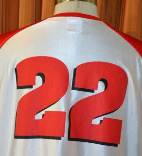 Badgers 22 Adidas Red White Basketball Jersey Mens Large