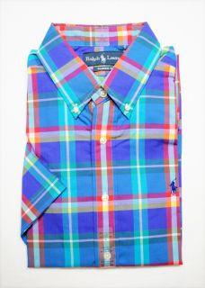 Ralph Lauren Polo Mens Classic Fit Short Sleeve Button Down Shirt