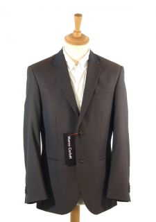 New Marco Carlotti Dark Brown Tonic Mens Suit 44S