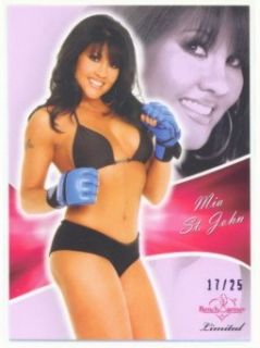 MIA St John Purple Parallel 25 Benchwarmer Limited 2011