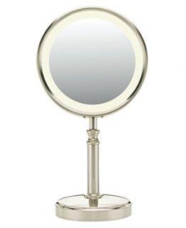 Conair BE116T Lighted Makeup Mirror, Satin Nickel