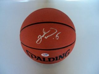 Jason Kidd Signed Basketball PSA DNA Authenticated