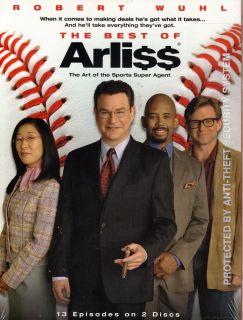 THE BEST OF ARLISS DVD 2 DISC SET * NEW & SEALED * ARLI$$ Robert Wuhl