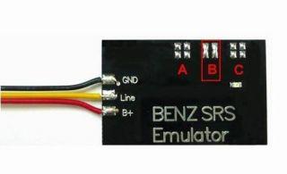 Mercedes Benz Unit Light Passenger Seat Occupancy Emulator Sensor Mat